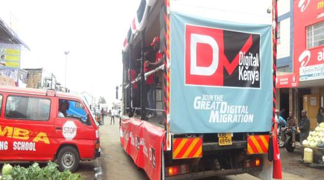 CCK had designated Dec 13 as the date for analogue switch off in Nairobi. Photo/FILE