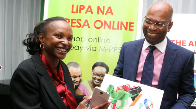 Safaricom CEO Bob Collymore said Kenya has in recent times witnessed remarkable growth in online payments driven by efficiency and Internet penetration hence the need to provide more payment solutions/CFM