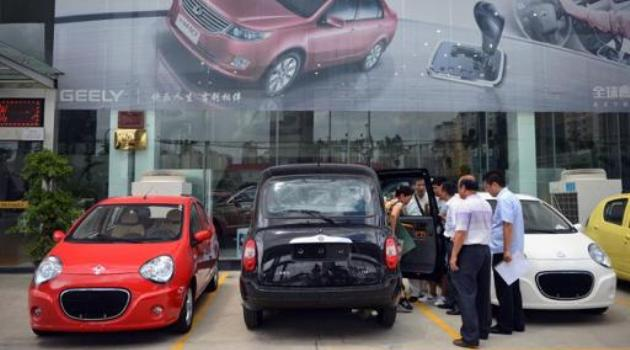 China auto sales up nearly 14% in 2013/AFP