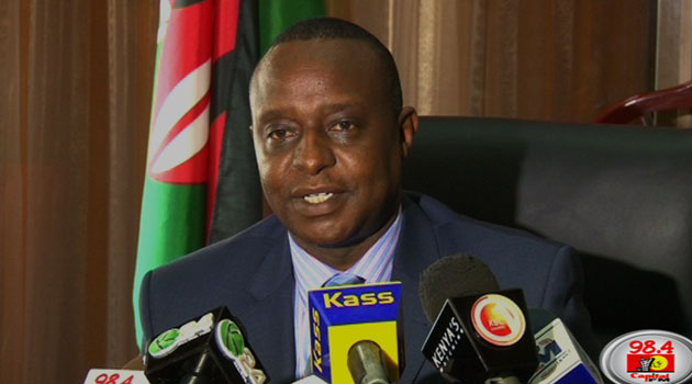 Rotich said business class flights for government officials will also be reduced while official meetings will also be restricted to government institutions/FILE