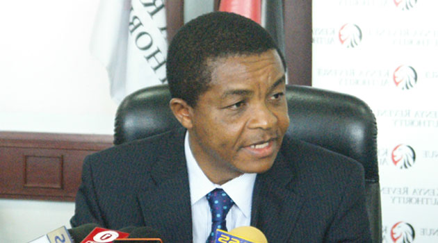 KRA Commissioner General John Njiraini said the authority posted Sh470.8 billion against a target of Sh470.2 billion  representing a 23.7 percent growth compared to the previous year, when they collected Sh380.7 billion/FILE