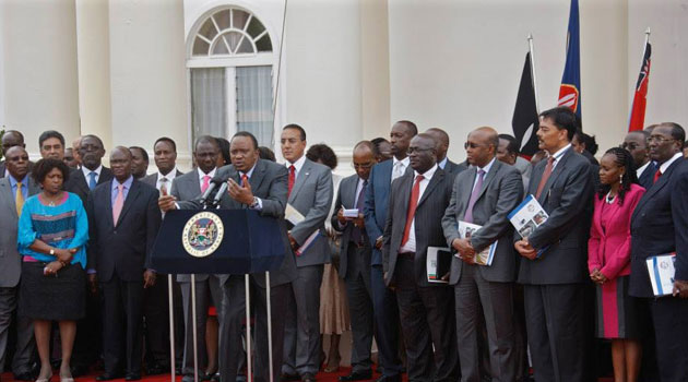 The President said all issues ranging from security and tax that affect business in the country will be addressed/PSCU
