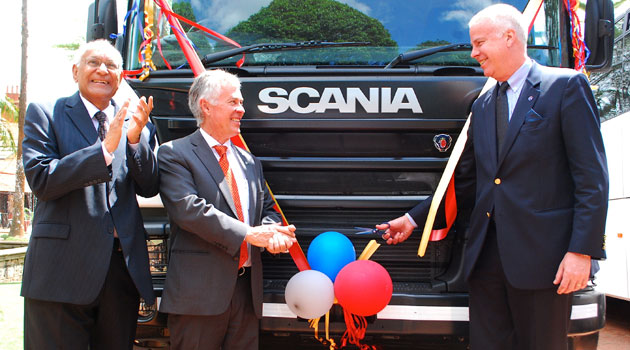 Scania East Africa will officially begin serving customers from March 1, 2014 through a fully fledged office based in Nairobi/COURTESY