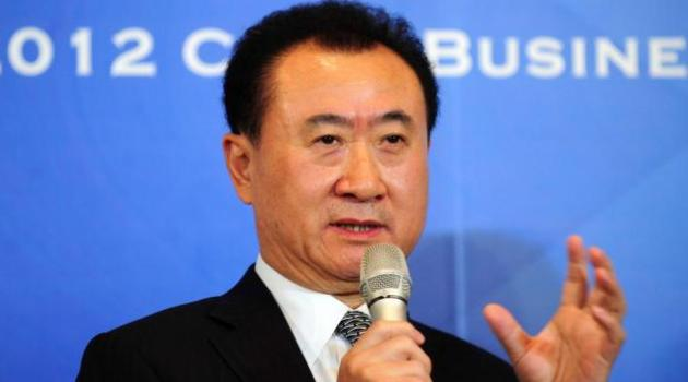 The richest person in mainland China, property magnate Wang Jianlin/AFP