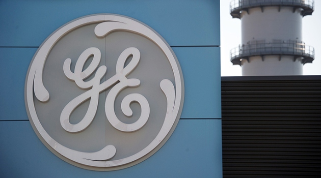 The logo of US giant General Electric/AFP