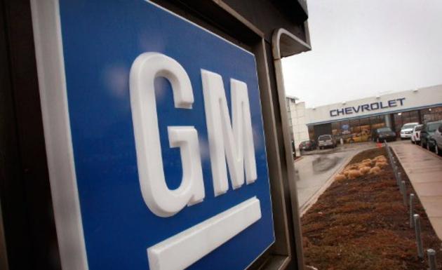 General Motors logo/AFP