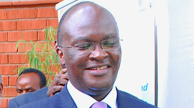 Speaking at a sensitising campaign dubbed 'Brighten up a Life', Health Cabinet Secretary James Macharia noted that prolonged use of kerosene as a primary source of lighting has serious health implications/FILE