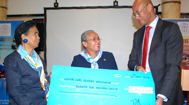 The first phase of this initiative will be implemented in partnership with the Kenya Girl Guides Association/FILE