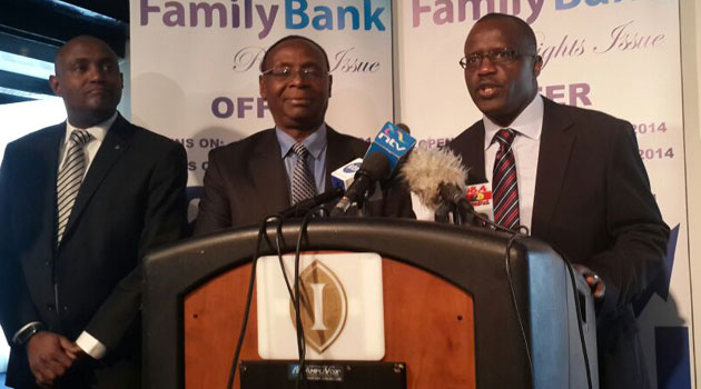 Speaking during investor briefing on Wednesday, Family Bank Chairman Wilfred Kiboro said the management is at the moment is focusing growth plans that will see shareholders gain maximum value once listed at the bourse/CFM