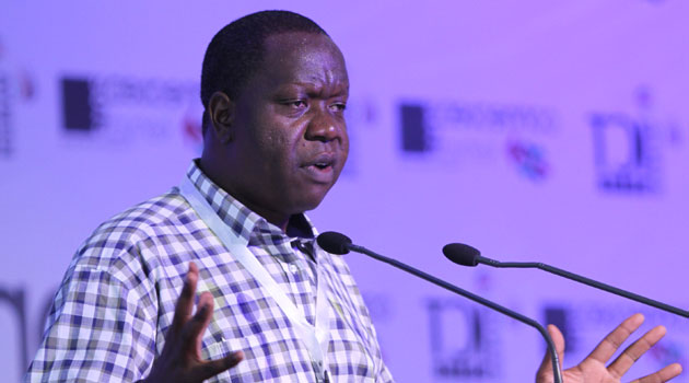 Speaking during World Post Day 2014, Matiang'i said the parastatal had all the required resources and there was no reason to lag behind any private firm/FILE