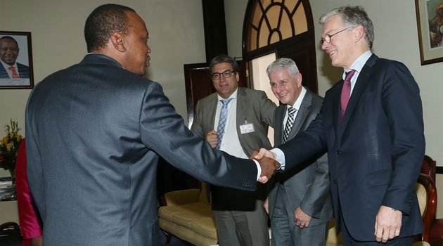President Kenyatta said the Government will partner with Philips in implementation of the new healthcare concept/PSCU