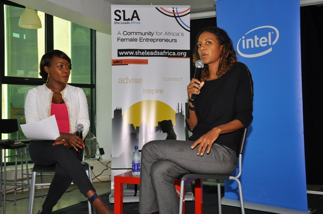 TV anchor Terry Anne Chebet and Media & Technology Expert Isis Nyongo