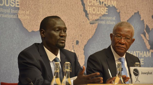 This debate by speakers attending the Chatham House Conference was sparked off by a presentation on the emerging oil sector in Kenya by Governor Josphat Nanok of Turkana/COURTESY