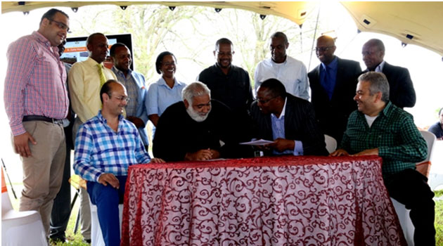 The sports and club investor signed a $23m agreement with Home Afrika that involves investment in the golf course, building of club facilities and management of the golf course/FILE