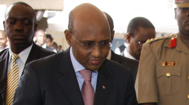 Industrialisation Cabinet Secretary Adan Mohamed says the government will take swift and decisive action against anyone found culpable/FILE