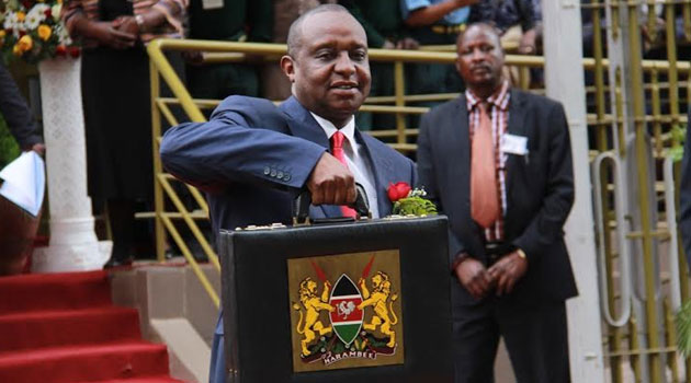 Rotich expects the exchequer to collect Sh1.358 trillion in revenue through these tax measures/MIKE KARIUKI