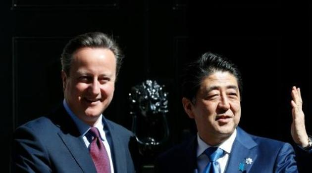 "Abe said it was ""better for the world"" for Britain to stay in the European Union/AFP"
