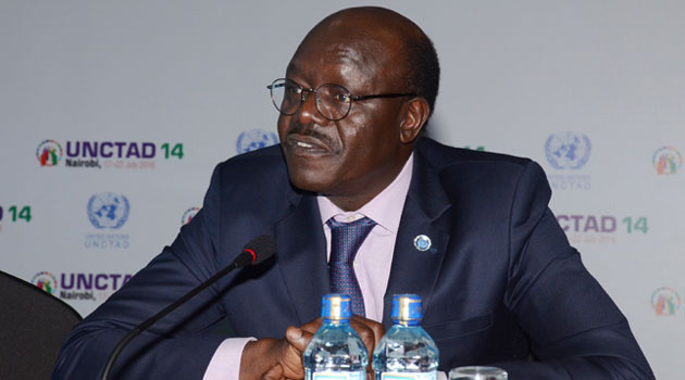 Kituyi was speaking during the launch of the Economic Development in Africa Report 2016 which recommends methods such as remittances which have been rapidly growing reaching $63.8 billion in 2014/COURTESY-UNCTAD