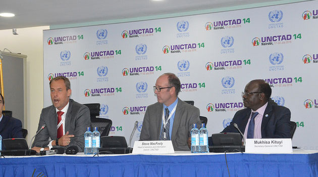 Speaking during a high level Chief Executive Officer's match-making for over 100 CEOS globally during the ongoing UNCTAD 14th conference, Kituyi urged the private sector to take advantage of the forum to make business deals with each other/UNCTAD