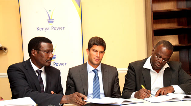 Speaking during the signing of the MoU on Thursday, CEO Kenya Power, Ben Chumo said the agreement will guide installation, testing and evaluation of equipment that will be supplied by TTDI on a trial basis to improve efficiency and reduce technical and commercial losses in the distribution network/FILE