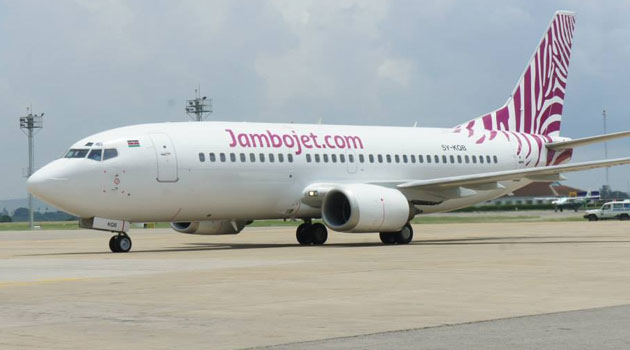 Jambojet is the first carrier in the region to offer on-board advertising following the partnership with the in-flight graphic and digital advertising company/FILE