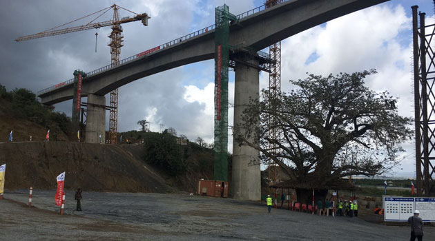 The Nairobi South Station terminal construction is at 69 percent completion rate while overhead cable for power supply at 85 percent completion/FILE