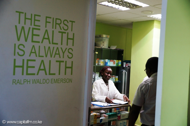 Employees have access to a doctor, pharmacy and a dental clinic