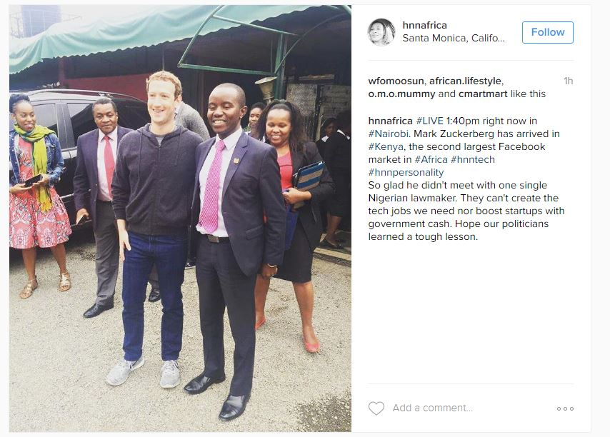 ZUCKERBERG MUCHERU