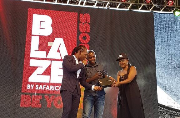 Safaricom's BLAZE campaign targets youth. The content of the campaign is the subject of court proceedings/Photo - blaze