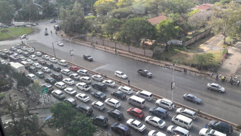 NAIROBI TRAFFIC - Nairobi car-free days suspended for at least two weeks