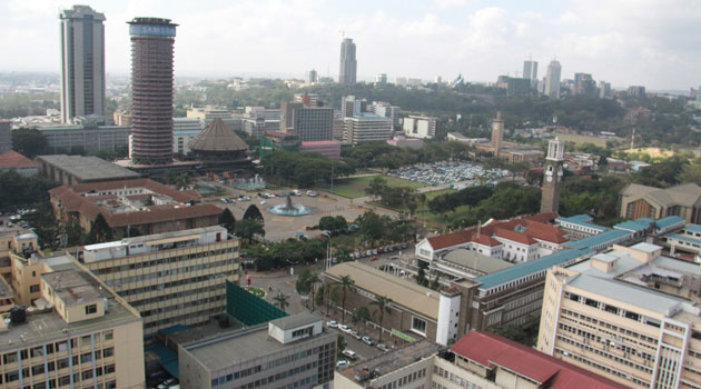 NAIROBI KICC AERIAL - Kenya moves up 5 places in World Bank's 2020 Ease of Doing Business index to 56