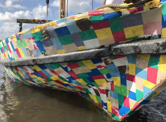 FLIPFLOPI DHOW - Watamu welcomes world's first dhow made from recycled plastic