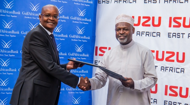 ISUZU GULF AFRICAN BANK 17 - Isuzu and GAB ink deal to facilitate Shariah compliant asset finance