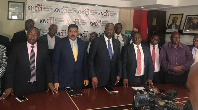 NGATIA KITTONY - Ngatia unopposed KNCCI President after all challengers step down