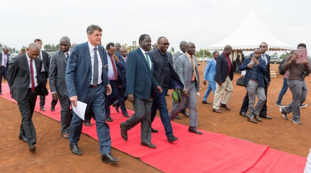 Walking - Unity Homes breaks ground at Tatu City to build 1200 low cost units