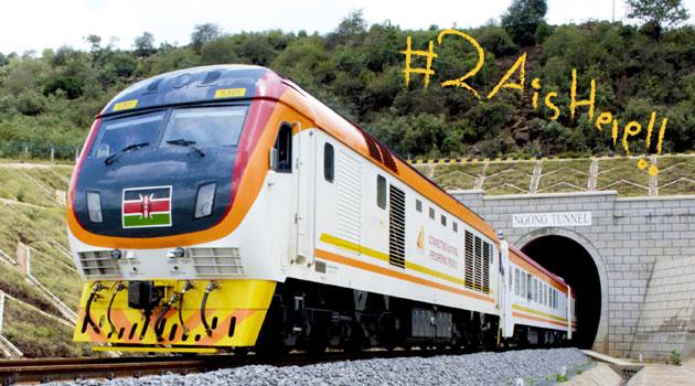 SGR TRAIN NGONG TUNNEL - President Kenyatta to launch Sh150bn Nairobi-Naivasha standard-gauge railway line