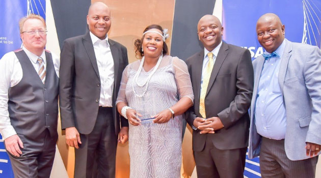 EQUITY VISA - Equity Bank receives Visa 2019 Top Acquirer Award for the 3rd time