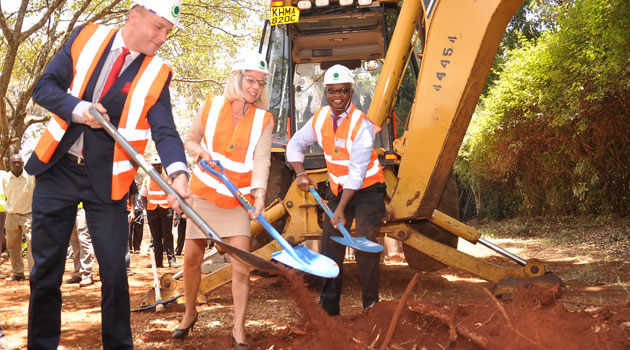 cytton ground breaking amar - Kenya's economic growth projected at 5.6pc to 5.8pc
