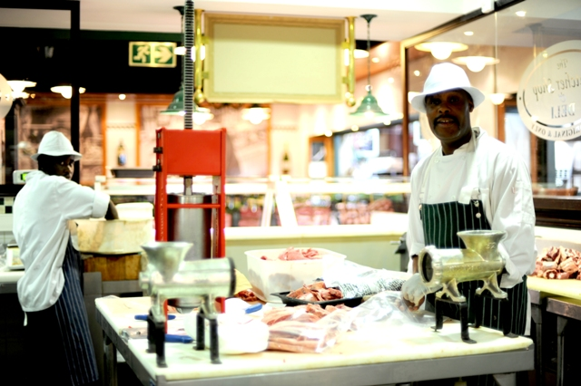 Biltong at The Butcher Shop and Grill in Sandton, South Africa (PHOTO: Susan Wong 2011)