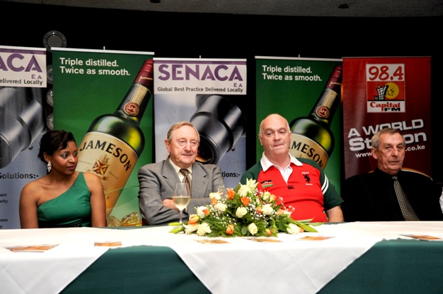 Ireland Counsel Joe Obrien attends launch of Inaugural St Patrick's Day Festival Kenya