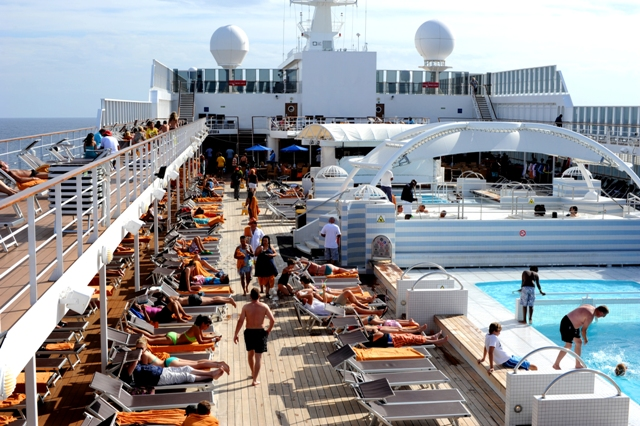 Aboard MSC Sinfonia photographed by Susan Wong 2012