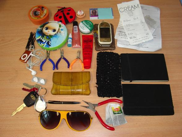 Revealed Contents Of A Lady S Handbag Capital Lifestyle