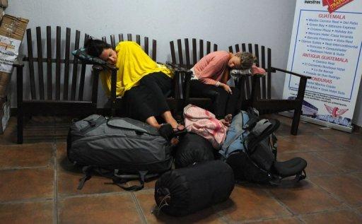 tourist sleep deprived