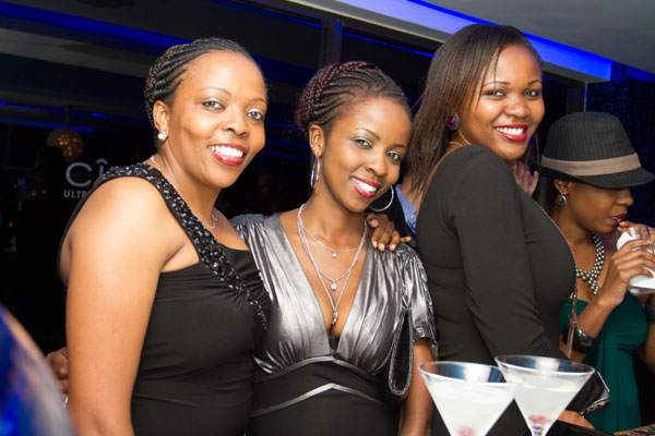 (L-R) Lilian Nganda, Maureen Wanja and Amy Wahome