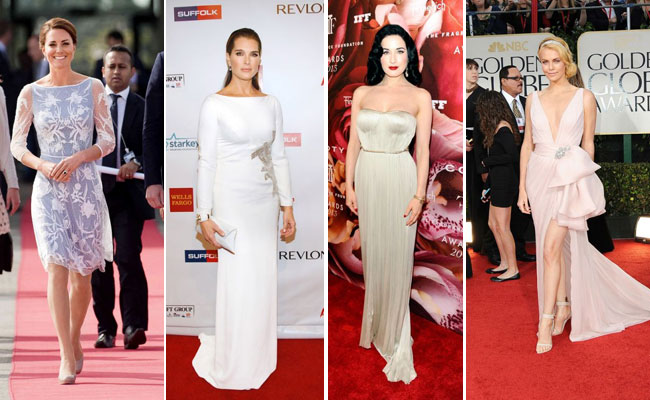 Kate Middleton,Brooke Shields, Dita Von Teese,and Charlize Theron
