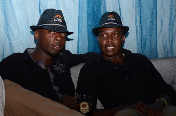 George Okatch (left) and Thomas Onyango (right)