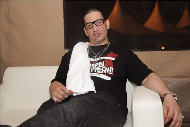 DJ Kid Capri Chilling