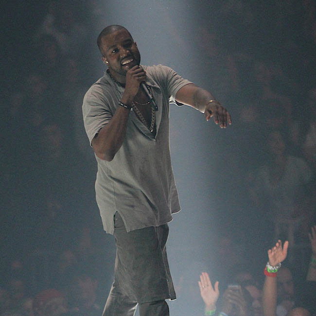 Kanye West performs for opening night of The Yeezus Tour at Barclay Center in Brooklyn