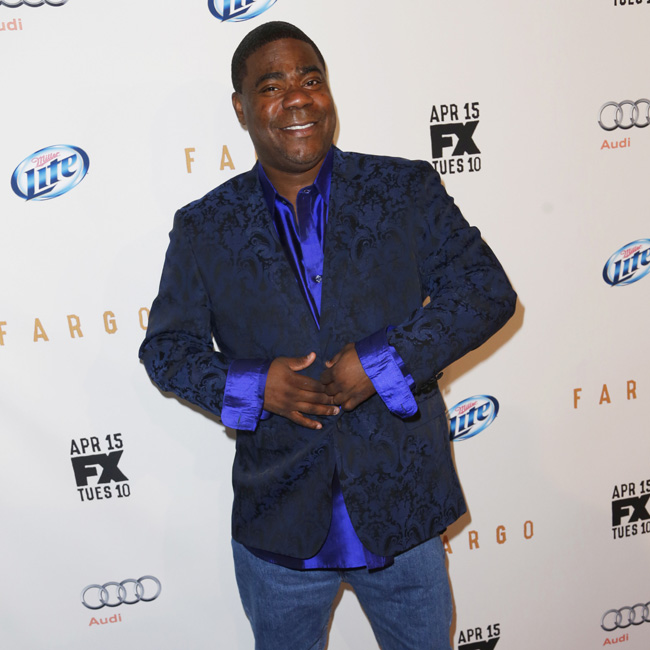Celebrity arrivals at the FX Networks Upfront premiere screening of 'Fargo' in NYC