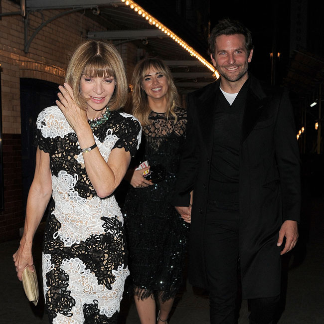 Suki Waterhouse and Bradley Cooper have dinner with Anna Wintour at J Sheekey restaurant